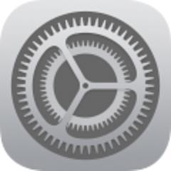 iOS 7 settings icon