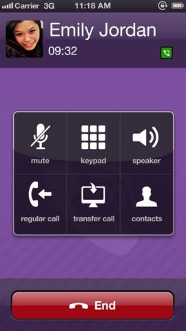 Viber 3.0 for iOS (iPhone screenshot 001)