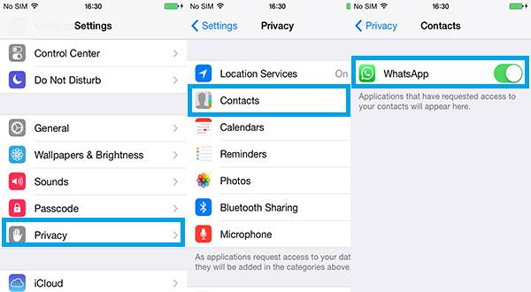 iPhone WhatsApp Problems