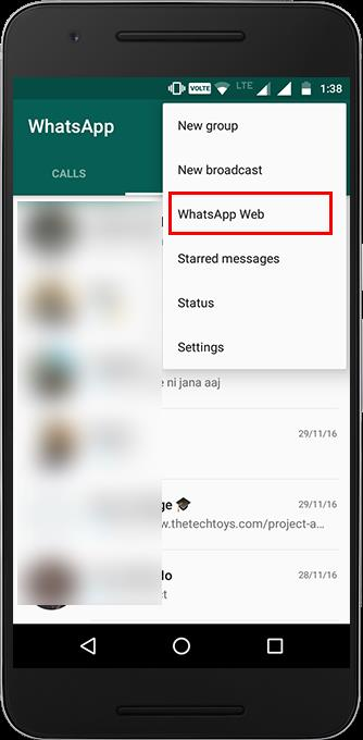 use whatsapp on pc