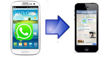 transfer Android WhatsApp and Viber messages to iPhone 7