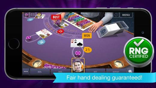 3D Multiplayer Blackjack for Viber