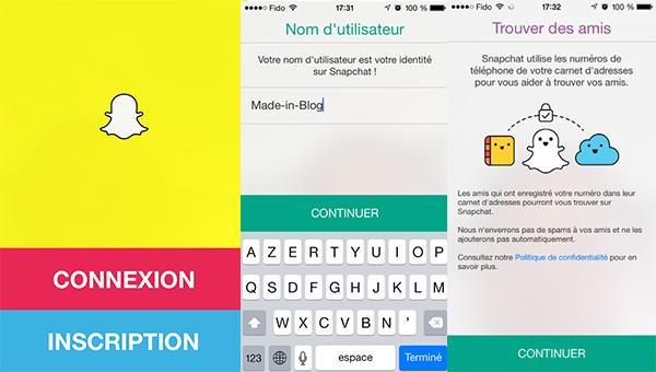 Register-Snapchat