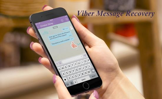 Viber Messages on iPhone
