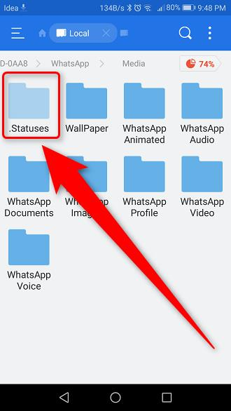 How To Download Someone's Whatsapp Status Video