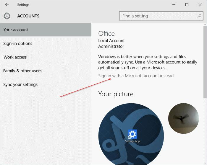 Use Gmail or Yahoo Mail as Microsoft acount step2