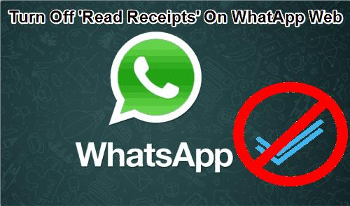 turn off Read Receipts on WhatsApp web using Firefox add-on