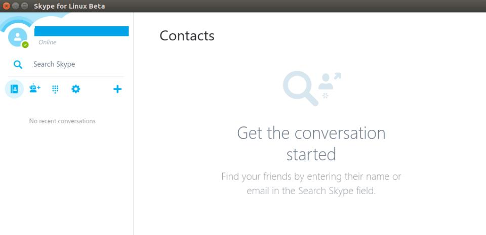 SKYPE LIVE CHAT APPLICATION