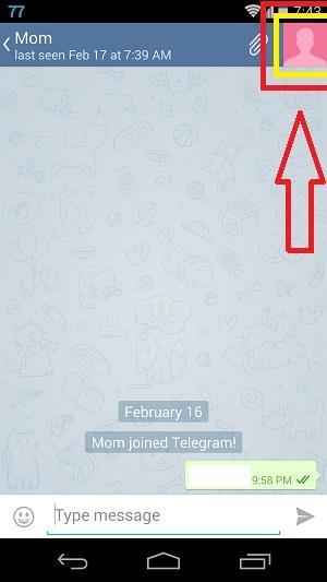 Telegram Block User 1