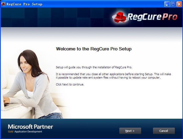 RegCure Pro Setup