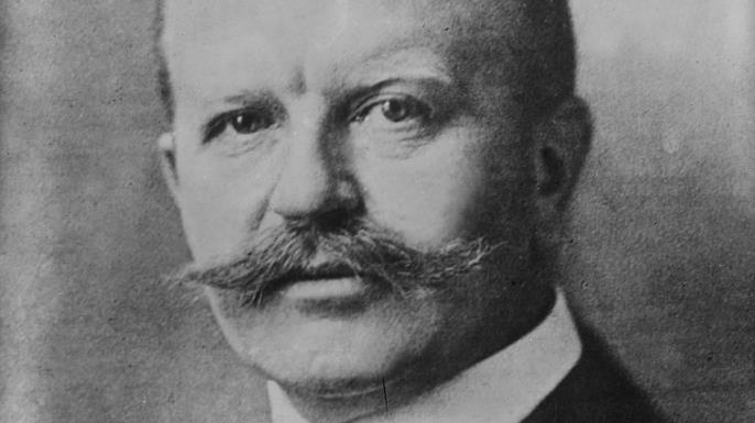 German foreign secretary Arthur Zimmermann. (Credit: Universal History Archive/UIG via Getty Images)
