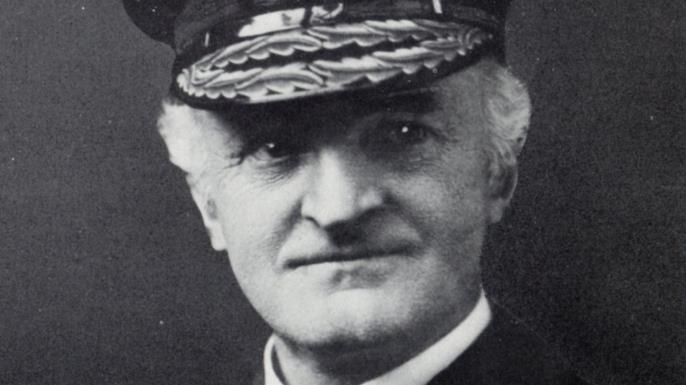 William Reginald Hall, who headed up Britain's Room 40 code-breakers