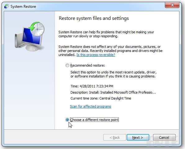 restore system-2