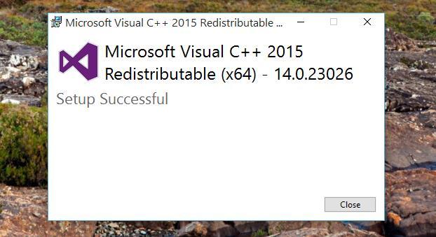 visual-c-redistributable-installed