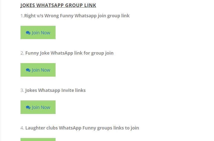 Funny Whatsapp group