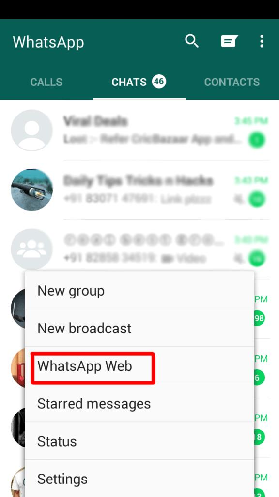 web whatsapp hack wizblogger 6