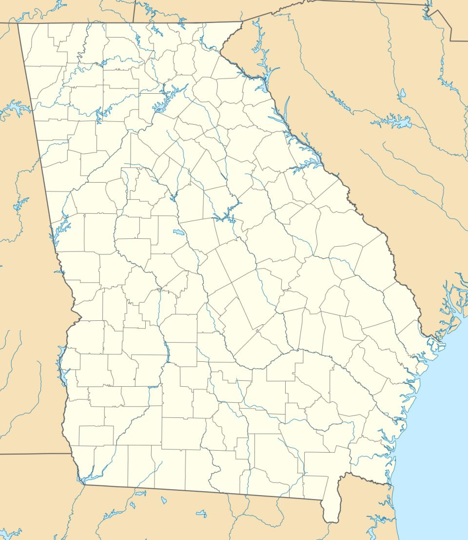 KWRB is located in Georgia (U.S. state)