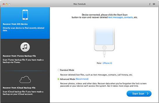 Recover Data on Jailbroken iPhone 6 on mac