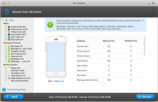 Restore Data on Jailbroken iPhone 6