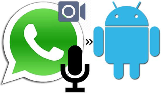 how to record whatsapp calls on android