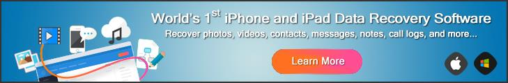 Try iOS Data Recovery Now