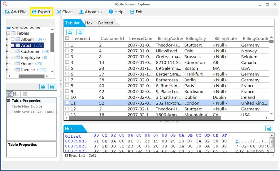 Export - tabular - export skype contacts to csv