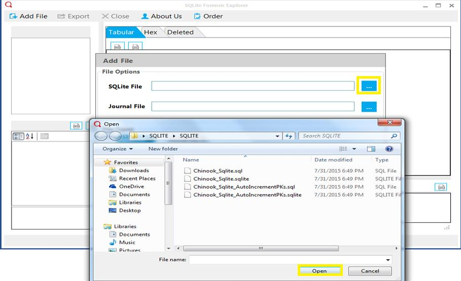 browse for file - export skype contacts to csv