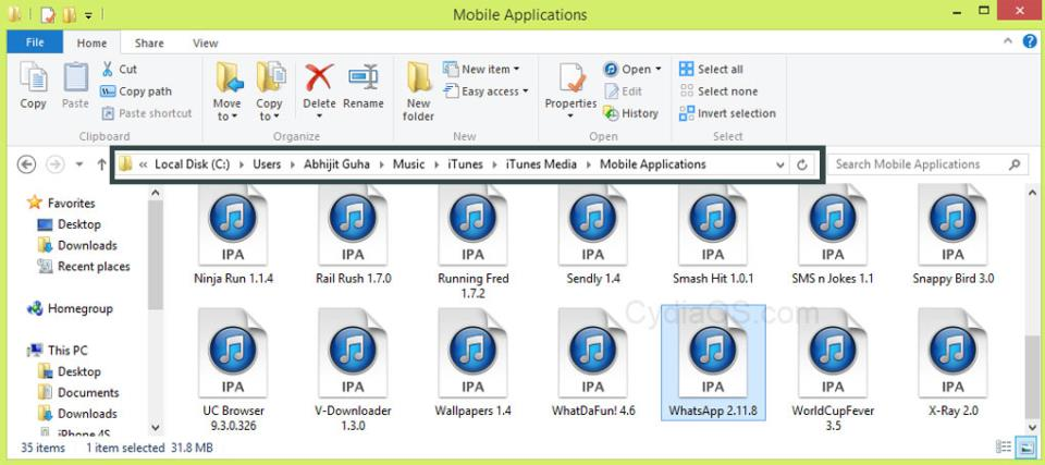 Install WhatsApp on iPad Mini