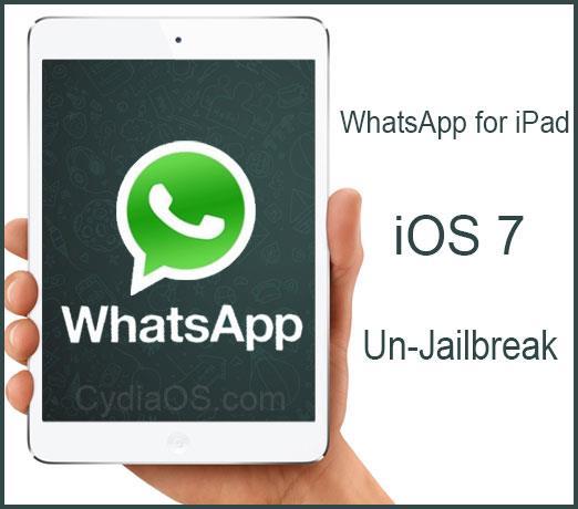Install WhatsApp on iPad
