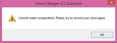 Recording error
