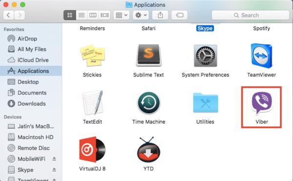 Download & install Viber for mac OS X El Capitan_4