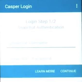 casper-login