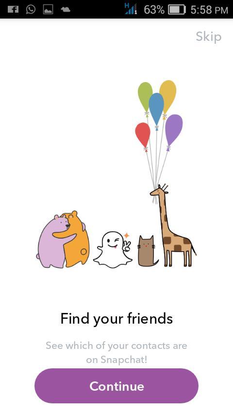 Adding Snapchat Friends