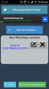 How to create Fake WhatsApp Last Seen on your Android