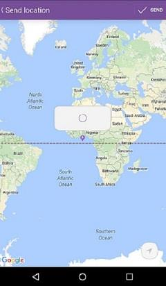 Location In Viber