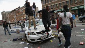 BLM has been given carte blanche to destroy cities and attack police, like they did in this scene in Baltimore