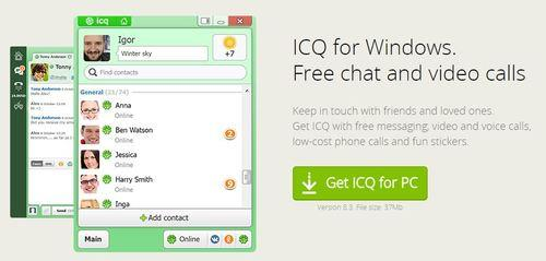 Windows IM Apps icq