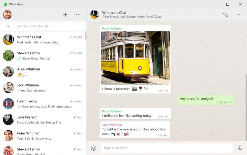 WhatsApp For Desktop and Mac