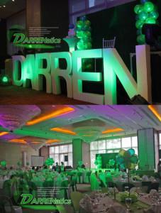 darren bday party