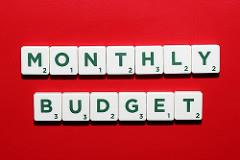 monthly budget photo