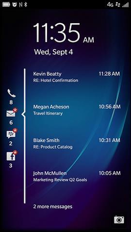 Lock screen notifications in 10.2