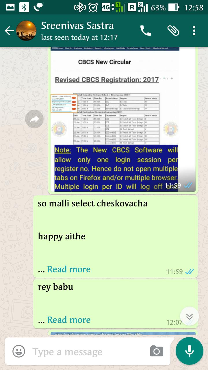 how to add read more tag in whatsapp