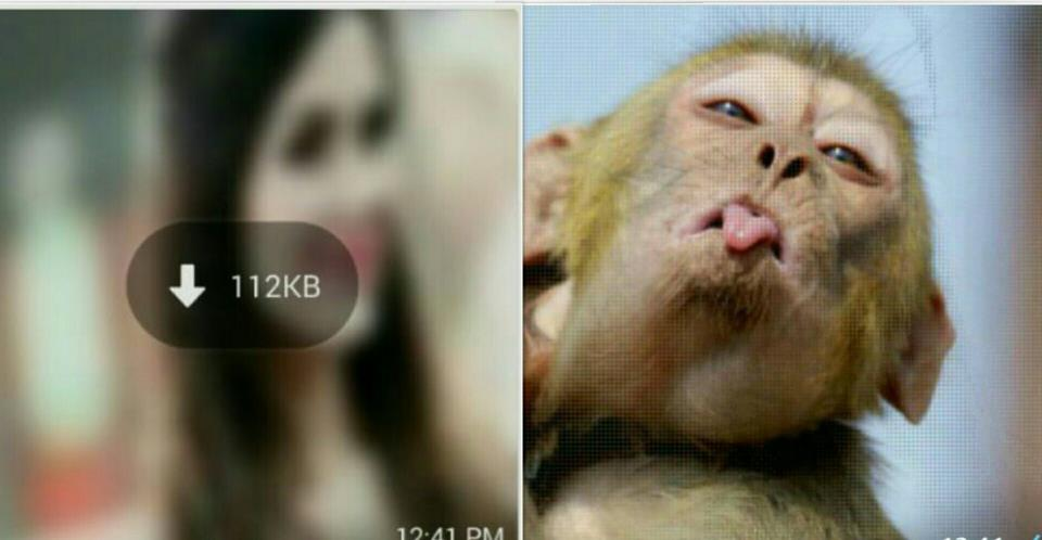 how to change thumbnail of real image in whatsapp