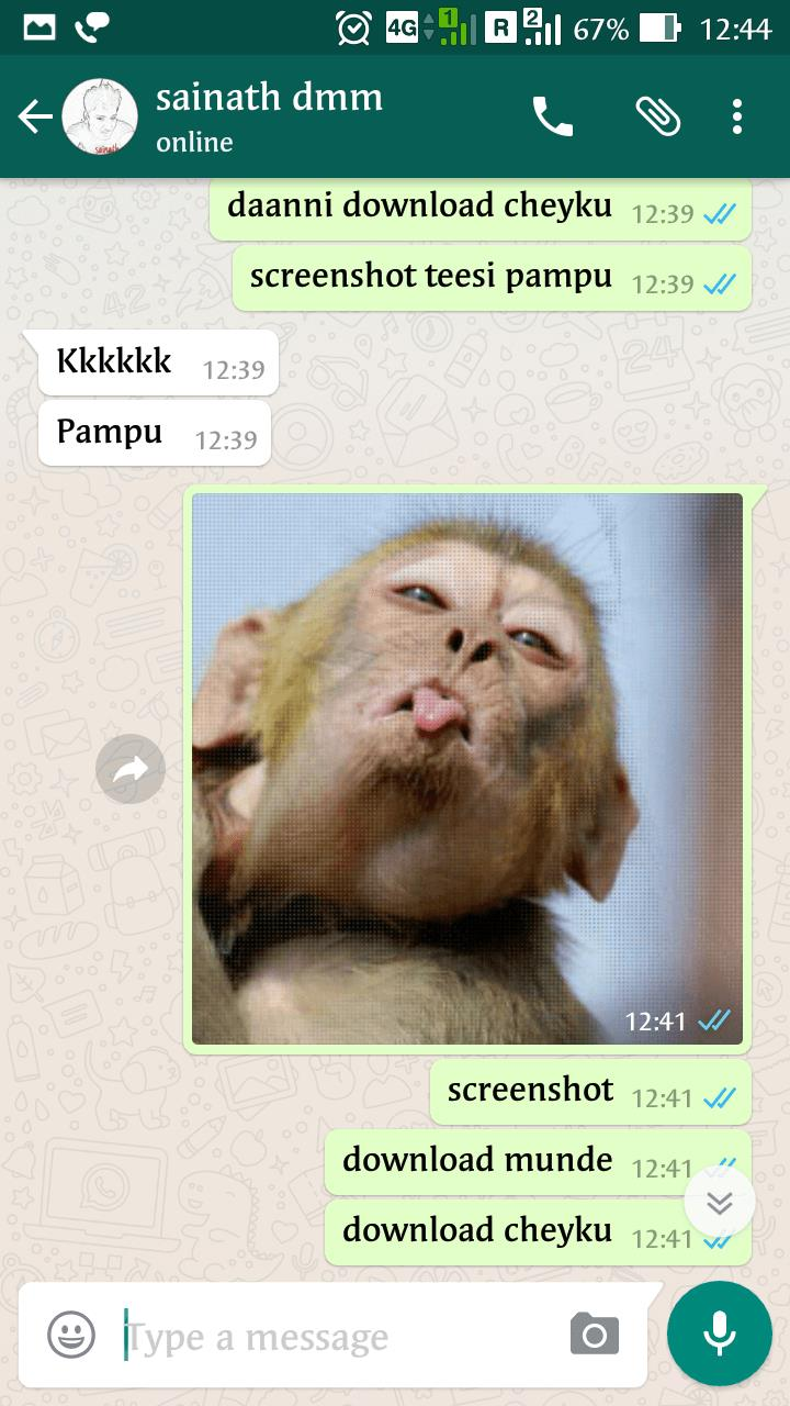 how to add different thumbnail for the real image in whatsapp