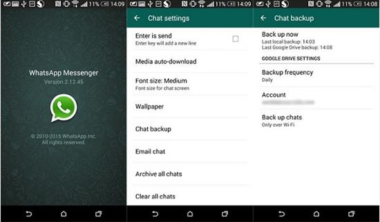 Transfer WhatsApp Messages from Android to iPhone via Backup