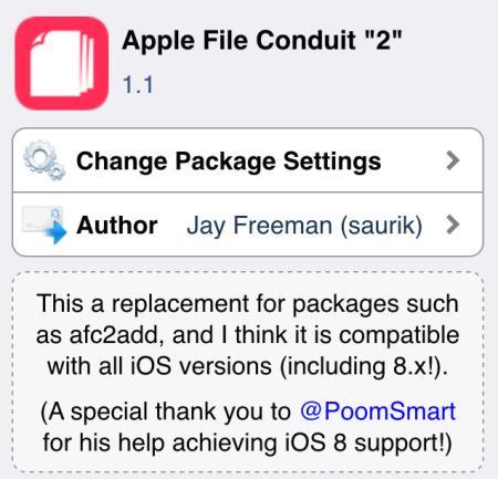 Apple File Conduit 2