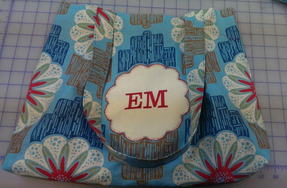 IMAG0811 1024x672 Sweet & Simple Bag to Sew with Easy Reverse Applique