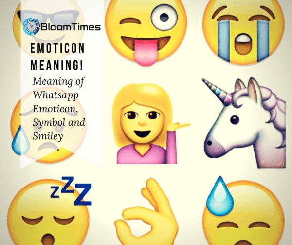 emoticon-meaning