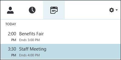 MeetingsList