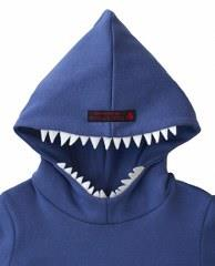 cute shark hoodie cotton spandex dp